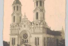 Bazylika Mniejsza pw. Najświętszego Serca Jezusowego w 1936 r.