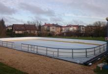Augustowskie lodowisko fot. Centrum Sportu i Rekreacji w Augustowie