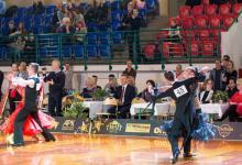 Mikołajkowy Międzynarodowy Turniej Tańca Sportowego o Puchar Burmistrza Miasta Augustowa, fot. Z. Bartoszewicz