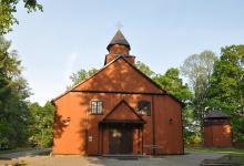 Kościół Matki Bożej Szkaplerznej w Studzienicznej, fot. J. Koniecko