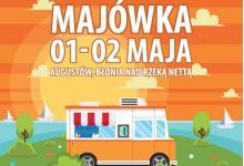 foodtruckowa_majowka w Augustowie plakat