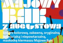Zdjęcie przedstawia plakat wydarzenia Majowy Bąk