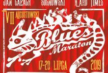 plakat Augustowski Blues Maraton