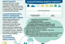 Ulotka Augustowska Karta Turysty