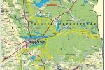 Szlak do jazdy konno wokół Augustowa