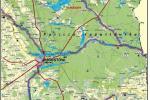 Szlaki kajakowe wokół Augustowa